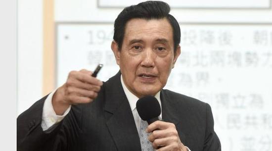 """马英九:民进党打掉""""服贸""""是""""误国"""" 历史会证明这个决定非常错"""