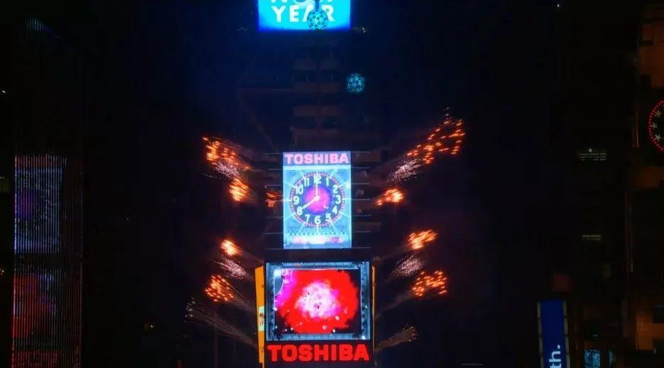 为经营重组合理化 纽约时代广场撤下东芝广告牌
