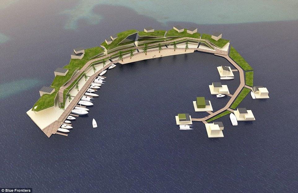 全球首个浮岛国家2022年建成 使用加密货币Vayron