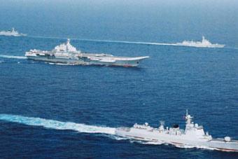 辽宁舰喊话首艘国产航母:加入我们 并肩战斗!