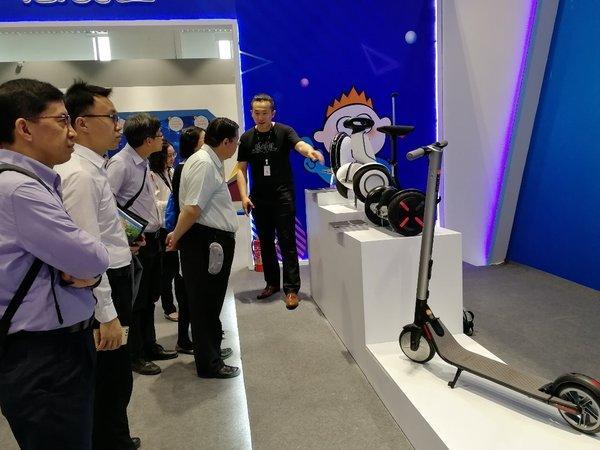 Segway-Ninebot参加2018科技周活动 以科技创新引领未来出行