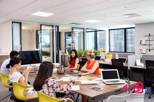 Distrii办伴成为新加坡当地最大共享办公空间