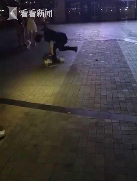 男子抱摔宠物狗发疯般挥拳狂击 其曾在宠物店工作