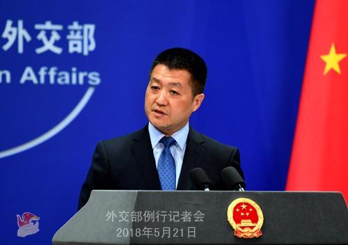 中国在南海岛礁起降轰-6K被指加剧紧张 外交部回应