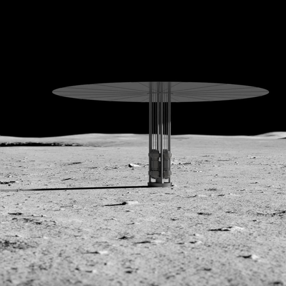 NASA十年后或将反应堆送上月球 为人类基地供电