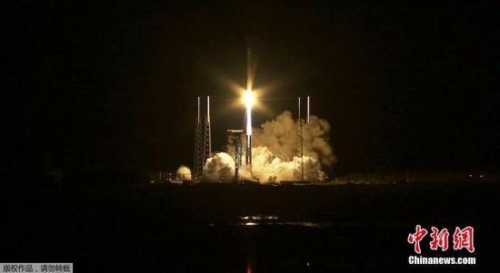"""美国""""天鹅""""号货运飞船21日将发往国际空间站"""