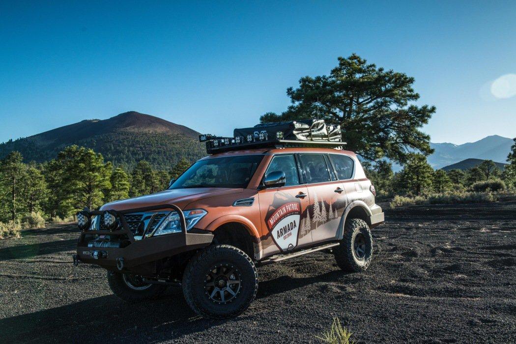 日产Armada Mountain Patrol概念车发布 秋季首秀