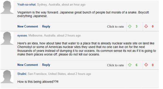日本要将100万吨核废水倒入太平洋引英网友痛斥