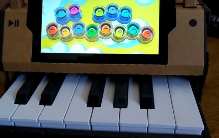 3D打印模块将Nintendo Labo钢琴变成一架迷你钢琴