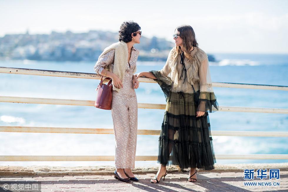 2018澳大利亚时装周:潮人街拍