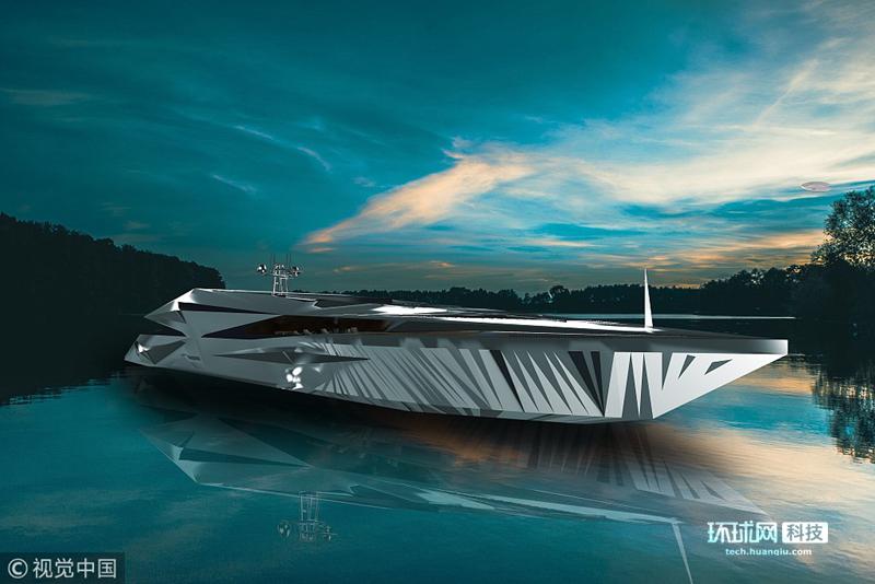 """宛如外星飞船 摩纳哥设计师打造""""海上飞碟"""""""