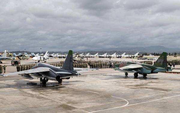 俄驻叙空军基地击落一架无人机 叙媒:来自反对派