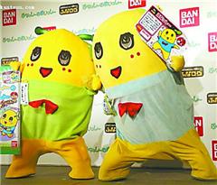 吉祥物给日本人心理做按摩