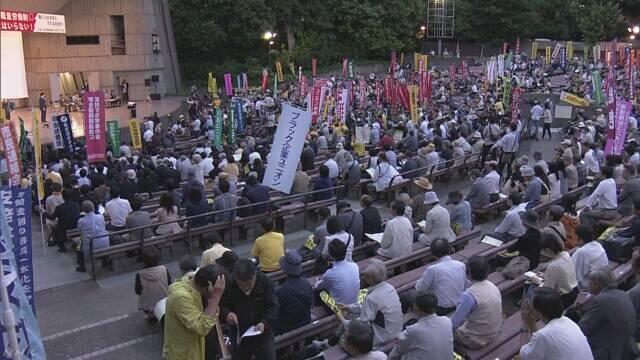 能者多劳不可取!日本东京千人集会抗议劳动方式改革新规