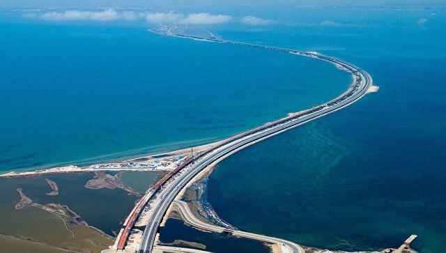 乌克兰议员称要毁坏刻赤海峡大桥 俄官员:无法理解乌议员脑回路!