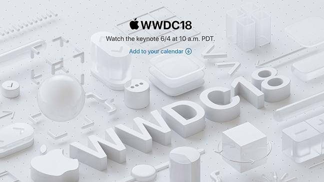 2018苹果WWDC发出媒体邀请 6月5日凌晨可观看直播
