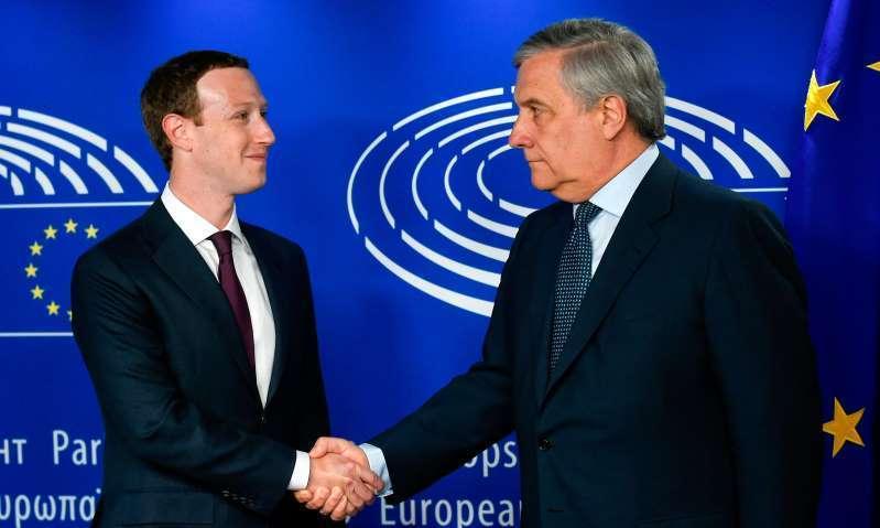 扎克伯格出席欧洲听证会 很多问题避而不答