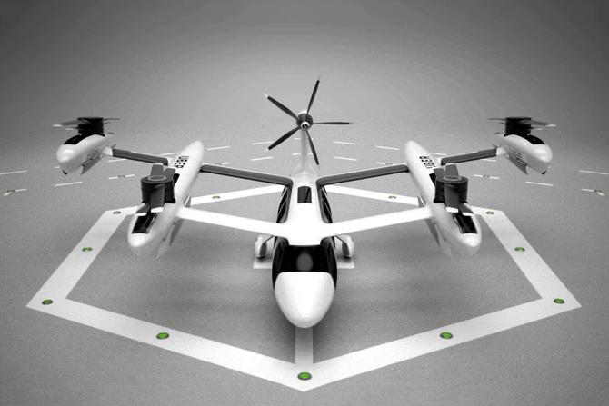 100万美元 Uber要造的无人驾驶直升机长这样