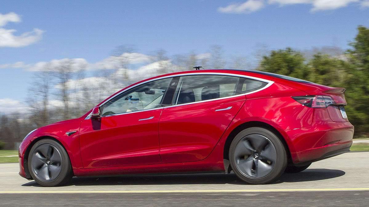 美权威杂志:如果Model 3制动距离改善 将重新测试