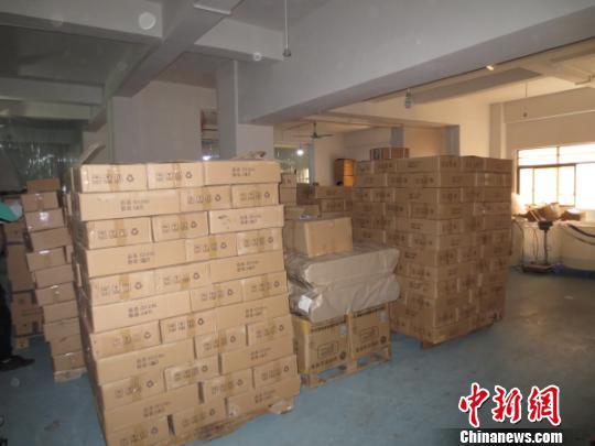 广州警方破获假冒国际品牌香水案 涉案额上千万元