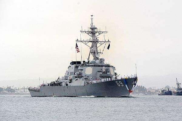 遏制中国?美国完成向日本增派3艘神盾驱逐舰