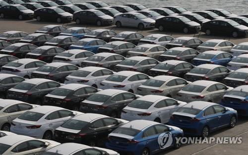 北美市场销售乏力 韩国4月汽车出口量同比下降8%