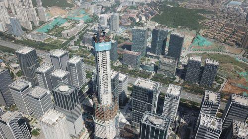 济南新第一高已破306米