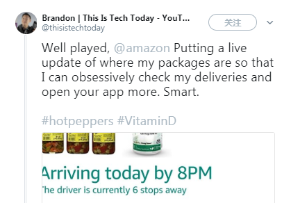 """亚马逊地图追踪包裹""""定位器""""向美国购物者开放"""