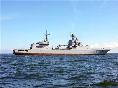 排水量5000吨!俄海军排水量最大登陆舰将下水