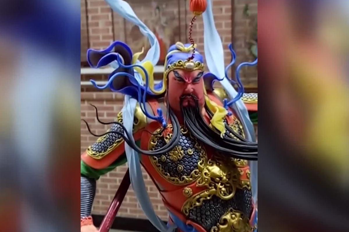 【环视频】当西方的翻糖遇到中国传统面塑,传统艺术焕发新生