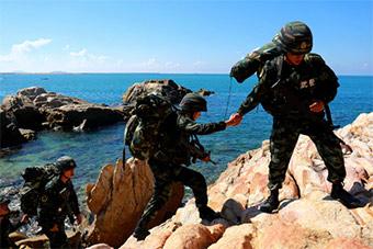 海南武警在这个风景如画之地打造特战精英