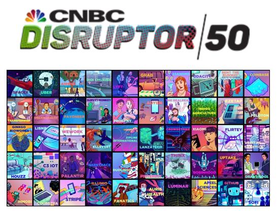 滴滴小米上榜CNBC全球创新50强 挑战美国企业霸主地位