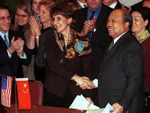 """激荡四十年·中国""""入世""""谈判"""