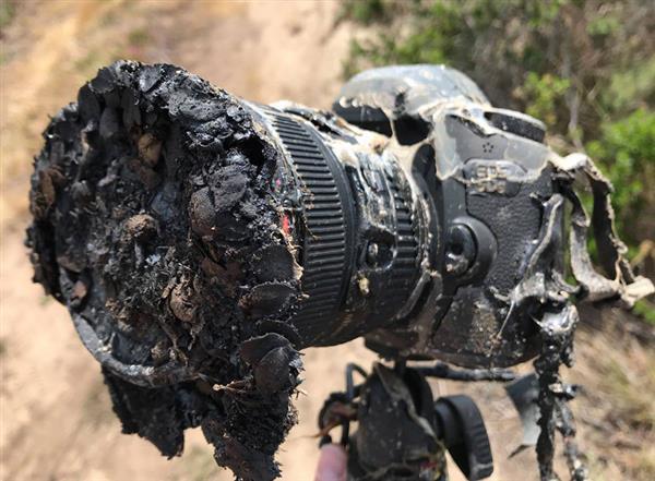 NASA摄影师拍摄猎鹰9发射:2万多的单反惨遭熔毁