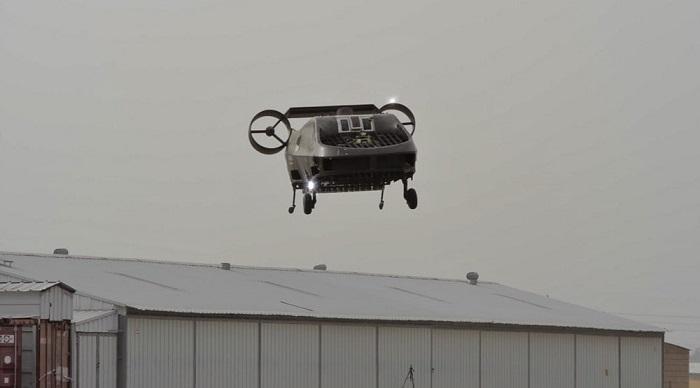 Cormorant自主无人机完成一次小型演示任务