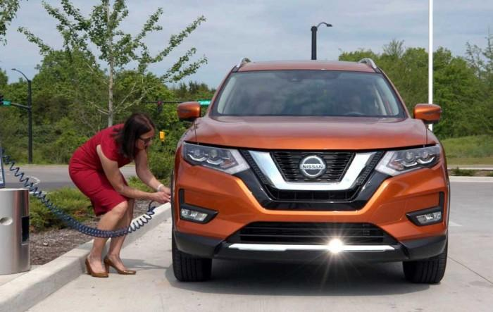 日产推出Easy-Fill轮胎警报系统 为夏季旅行省钱