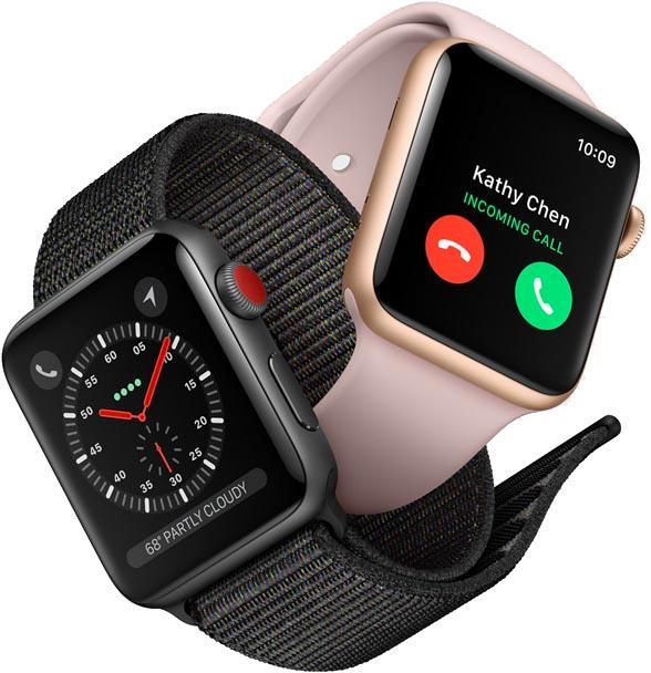 Apple Watch统治全球蜂窝网络型智能手表市场