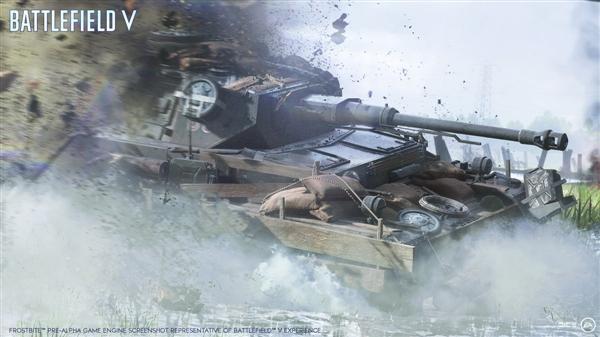 《战地5》宣布10月19日上市:回归二战