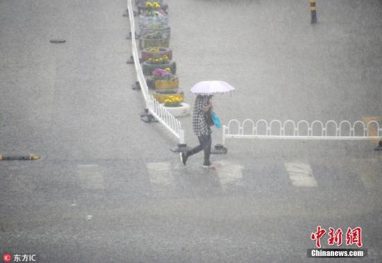 江淮江南等地将有较强降水 较强冷空气影响北方