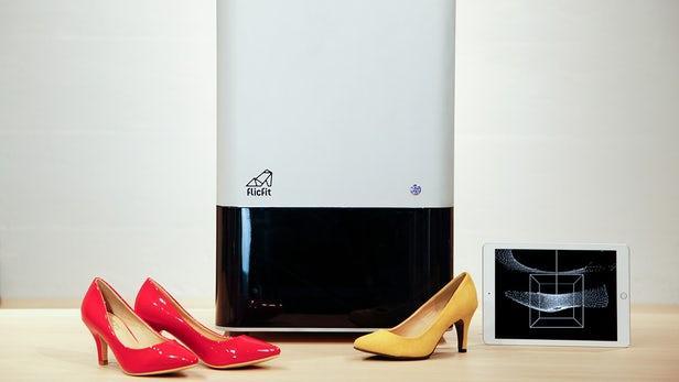 3D扫描系统简化买鞋过程 可助商店提高销量