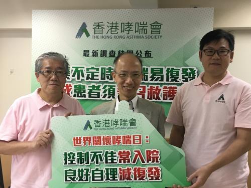 香港调查:哮喘六成患者低估病情 四成曾入急症室