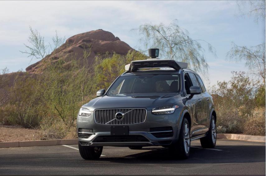 因为致命撞人事故 Uber关闭亚利桑那州无人车项目