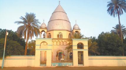 苏丹人招待贵客参观马赫迪宫