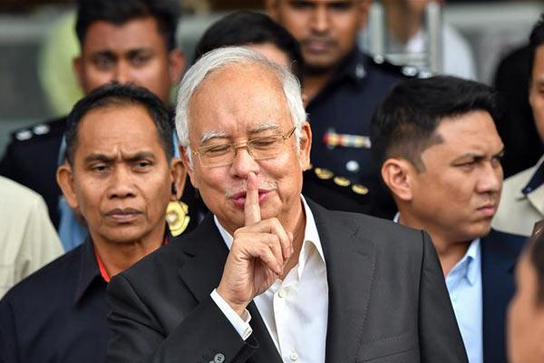 马来西亚前总理纳吉布再次接受反腐败委员会问话