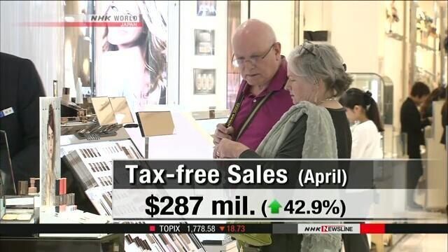 销售额连续2个月刷历史新高 访日游客继续拉升日本消费