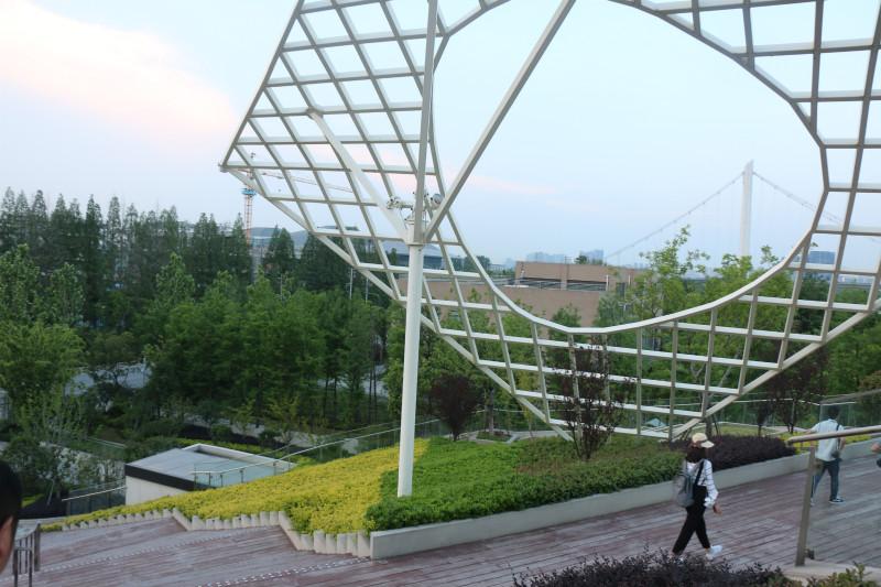 """【美丽中国长江行】南京生态科技岛: 打造头号玩家现实版""""绿洲"""""""