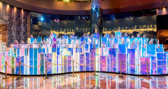 新濠天地隆重呈献决胜机器人大型装置展