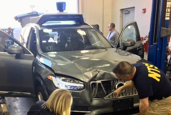 Uber无人车撞人调查结果:提前6秒发现人却没刹车