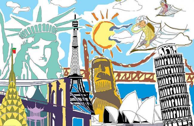 女子考研失败去环游世界 600天两万美元走过27国