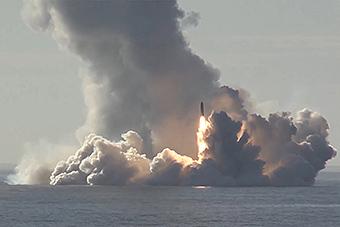 美专家:俄齐射4枚布拉瓦导弹最大威力堪比160枚广岛原子弹